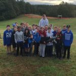 Boys Middle School Cross Country finishes 6th place at Woodridge CVNP
