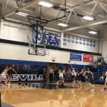 Girls Varsity Basketball beats Medina 44 – 43