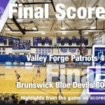 Boys Varsity Basketball beats Valley Forge 80 – 45
