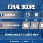 Boys Varsity Volleyball falls to Jackson 3 – 0