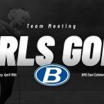 Girls Golf Meeting, April 16th