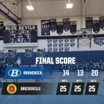 Boys Varsity Volleyball falls to Brecksville-Broadview Heights 3 – 0