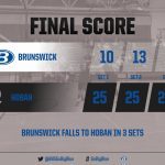 Boys Varsity Volleyball falls to Archbishop Hoban 3 – 0
