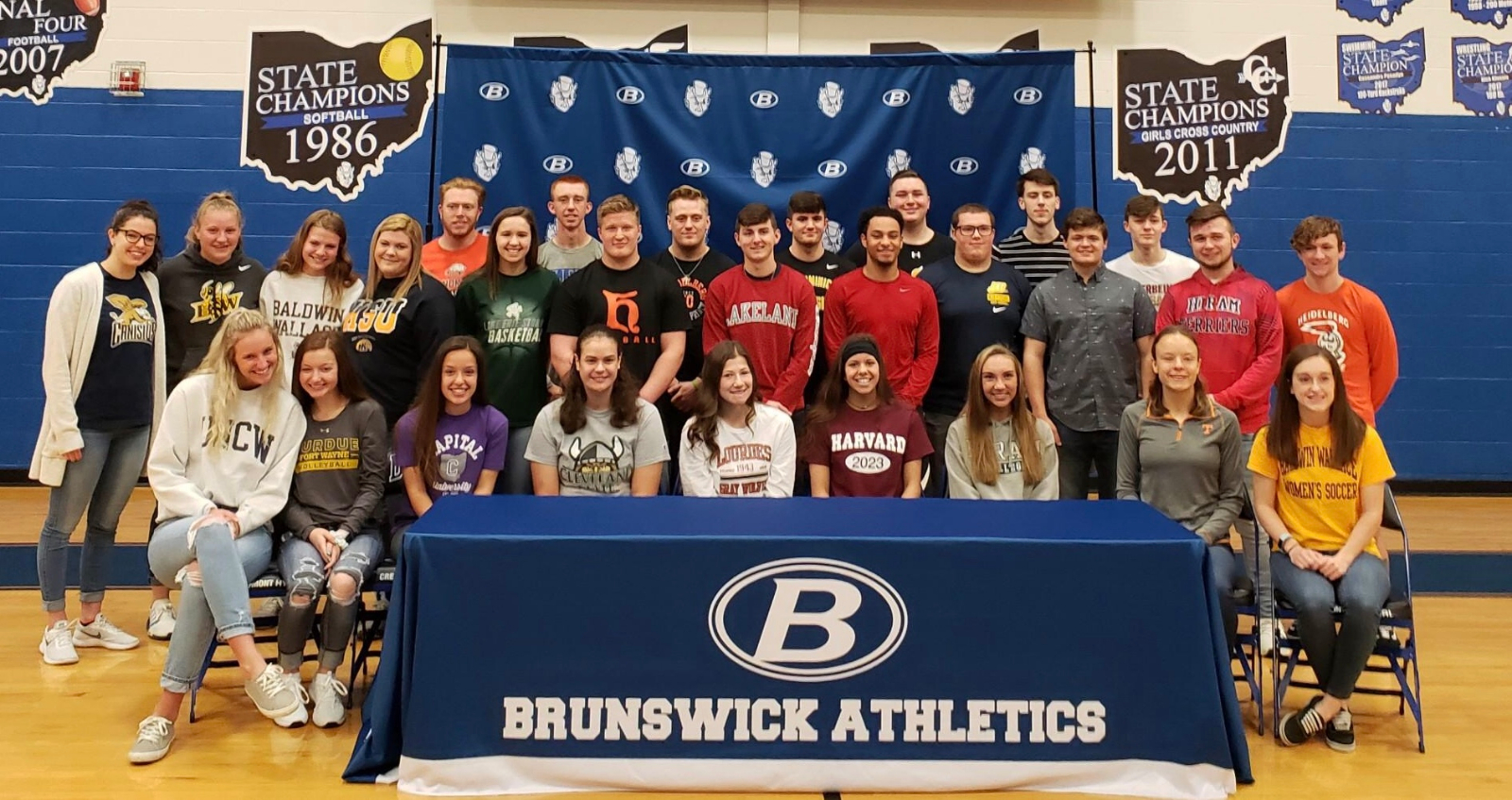 31 Blue Devils Make College Commitments