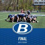 Boys Varsity Rugby beats St. Xavier 44 – 24