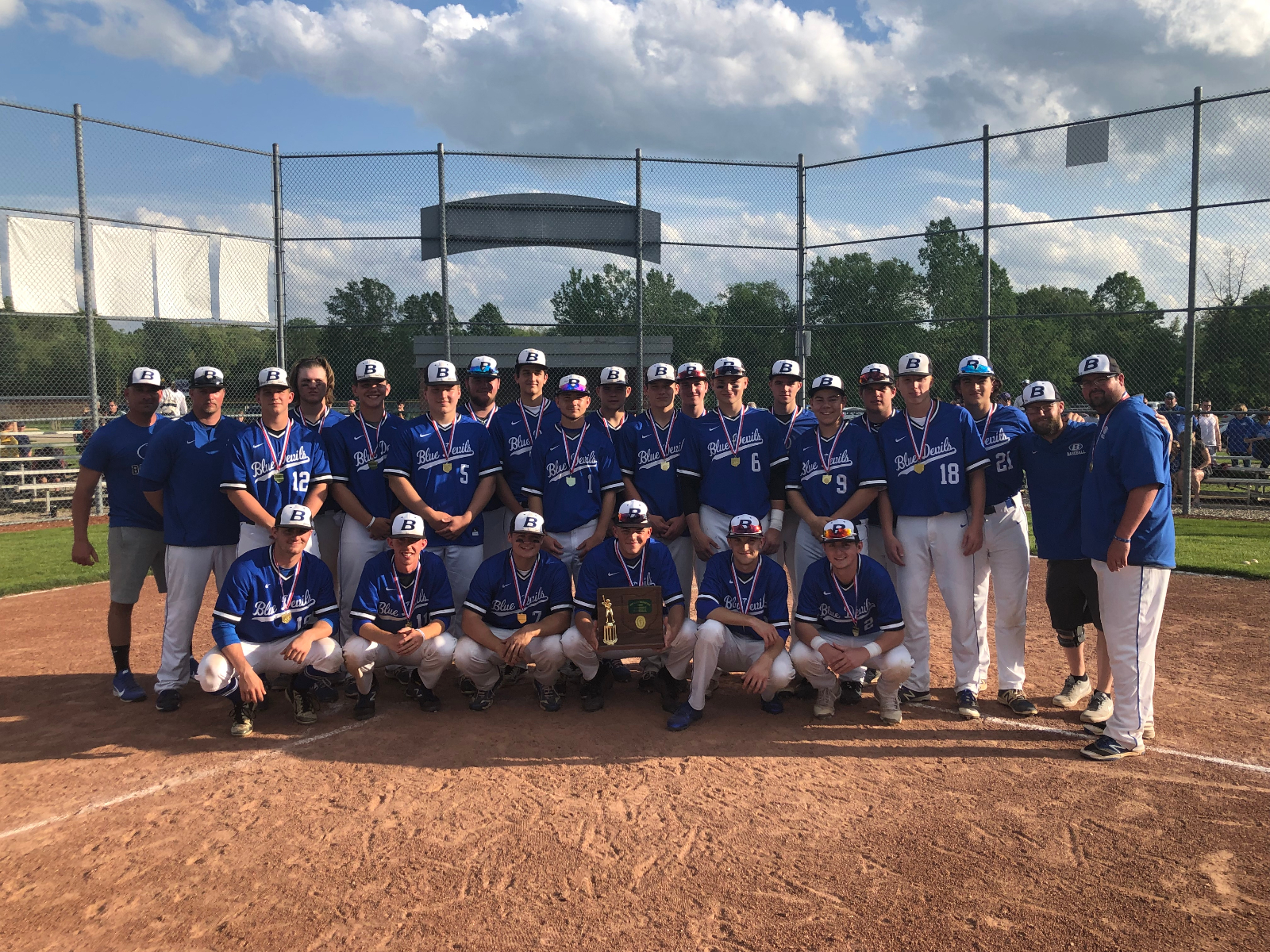 Baseball Wins District Championship