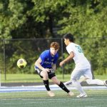 Dublin Coffman Narrowly Defeats Boys Varsity Soccer, 2-0 on Opening Night
