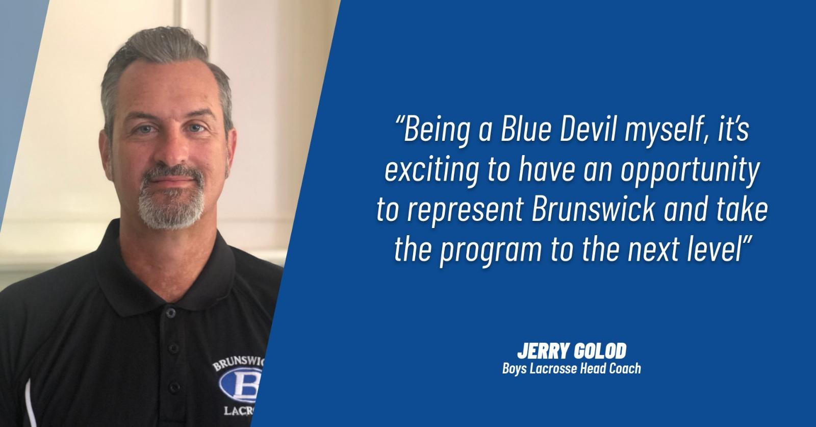 Jerry Golod Named New Brunswick High School Boys Lacrosse Coach