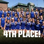 Girls Middle School Cross Country finishes 4th place at Glenoak Invitational