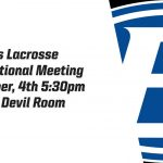 Brunswick Girls Lacrosse Informational Meeting Grades 9-12