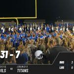 Varsity Football beats Lorain 31 – 7