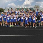 Boys Middle School Cross Country finishes 1st place at Vertical Runner Invitational