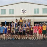 Boys Middle School Cross Country finishes 3rd place at Vermilion Invitational