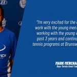 Mark Merchant Named New Brunswick High School Boys Tennis Coach
