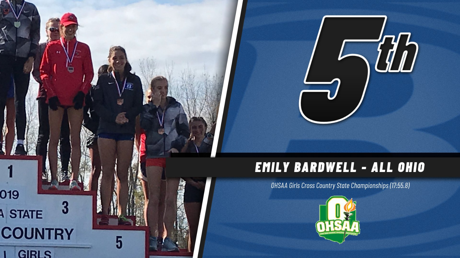 Girls Cross Country Finishes 13th in State; Bardwell Takes 5th