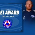 Coach Ben Dotson Honored as Ohio's SEI Award Recipient