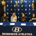 6 Blue Devils Sign NLI's