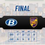 Boys Varsity Basketball beats Erie 74 – 67
