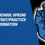 Middle School Spring 2020 Tryout/Practice Information