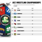 Wrestling finishes 2nd place at GCC Championships: 3 Individual Champions