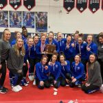 Varsity Gymnastics finishes 2nd place at OHSAA District