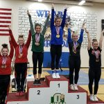 Jordyn Thomas finishes as 2020 State All Around Champion