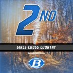 Girls Middle School Cross Country finishes 2nd place at Buckeye