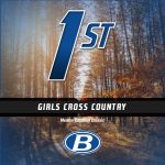 Girls Middle School Cross Country finishes 1st place at Mentor Invitational