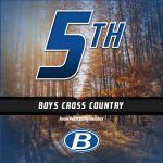 Boys Middle School Cross Country finishes 5th place at Avon