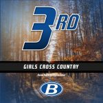Girls Middle School Cross Country finishes 3rd place at Avon