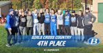 Girls Varsity Cross Country finishes 4th place at GCC Championships
