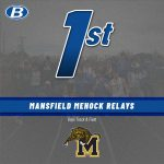 Boys Track & Field finishes 1st place at Mehock Relays