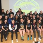 Coed Varsity Powerlifting finishes 1st place at Birch Run Regional Qualifier