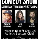 Comedy Show 2/23 @ Lexington Theatre