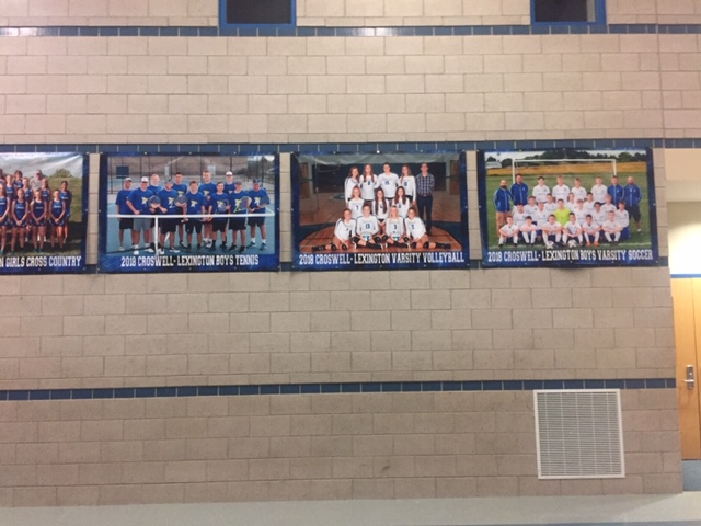 Fall Team Photo Banners for Sale
