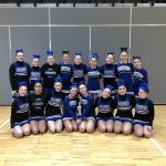 Girls Middle School Competitive Cheer finishes 1st place at North American Spirit-All County Meet