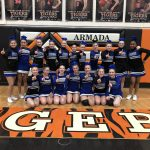 Cros-Lex Middle School Cheerleaders Clinch the BWAC Title