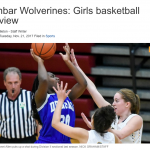 Take a Look at DDN's Spotlight on DPS Dunbar Girl's Basketball for 2017-2018