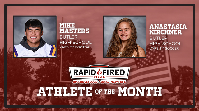 The Rapid Fired Pizza November Athlete of the Month is…