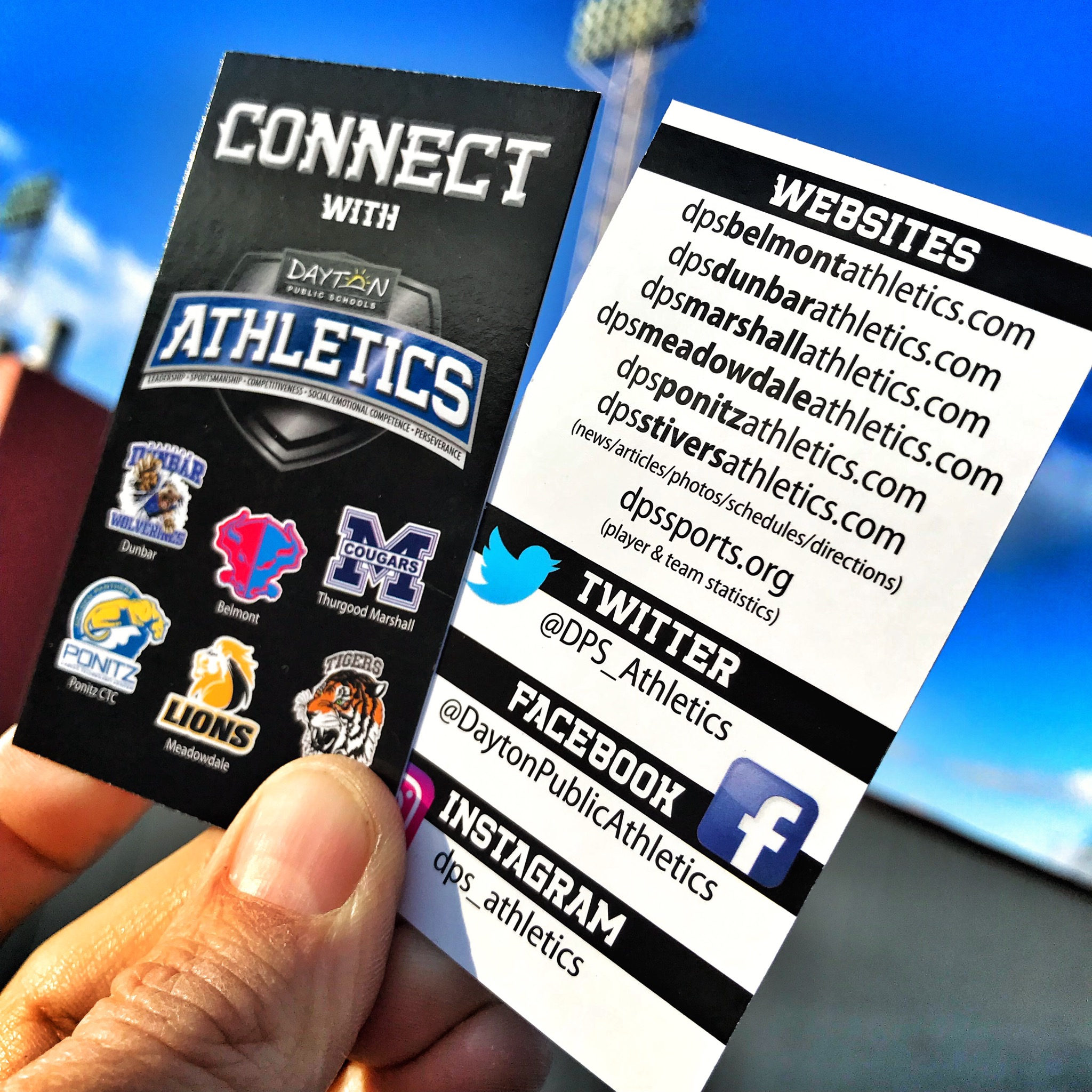 Get Connected to Ponitz Athletics!