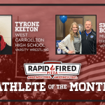 And the Rapid Fired Pizza Athlete of the Month is….