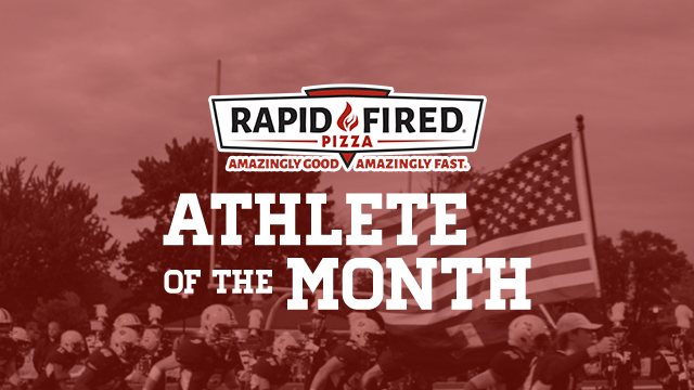 Vote Stivers Now! Rapid Fired Pizza January Athlete of the Month