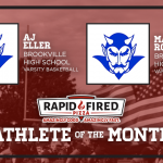 The December Rapid Fired Pizza Athletes of the Month are…