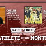 The January Rapid Fired Pizza Athletes of the Month are…