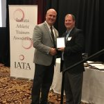 "Brock Touloukian named Indiana Athletic Trainers' Association ""Athletic Director of the Year""!"