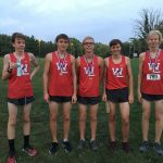 Boys Junior Varsity Cross Country finishes 2nd place at Doc Weesner JV Finale