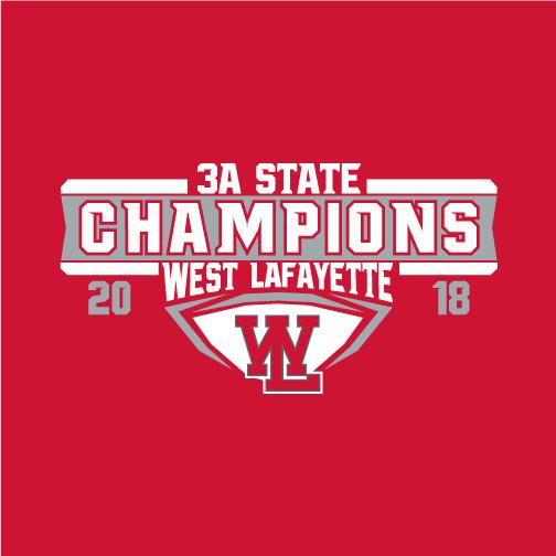 2018 3A Football State Champions Spirit Wear Team Shop