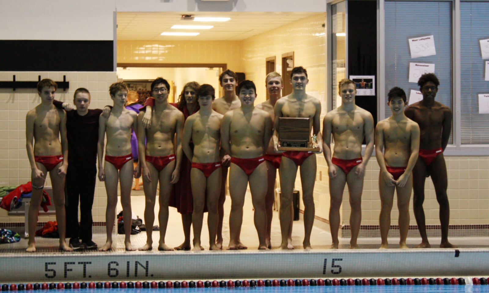 West Lafayette Boys Swimming/Diving Win the Hoosier Conference