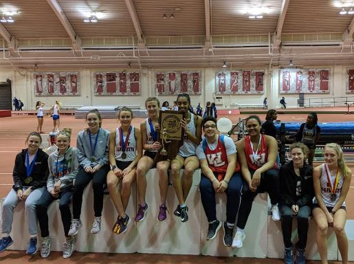 Girls Track claims first Hoosier State Relays Title