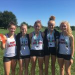Girls XC team competes at Zionsville Early Bird Invitational